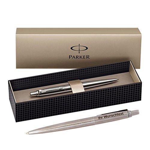 parker kugelschreiber jotter k61 c c edelstahl inkl laser gravur - Parker Kugelschreiber Jotter K61 C.C., Edelstahl, inkl. Laser-Gravur
