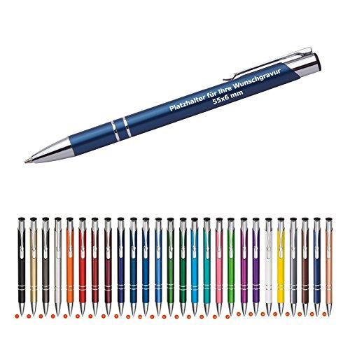 cosima kugelschreiber mit gravur 50 stueck aus metall neu alle mit gleicher wunschgravur wpro - Cosima Kugelschreiber mit Gravur 50 Stück aus Metall (Neu & alle mit gleicher Wunschgravur) WPRO